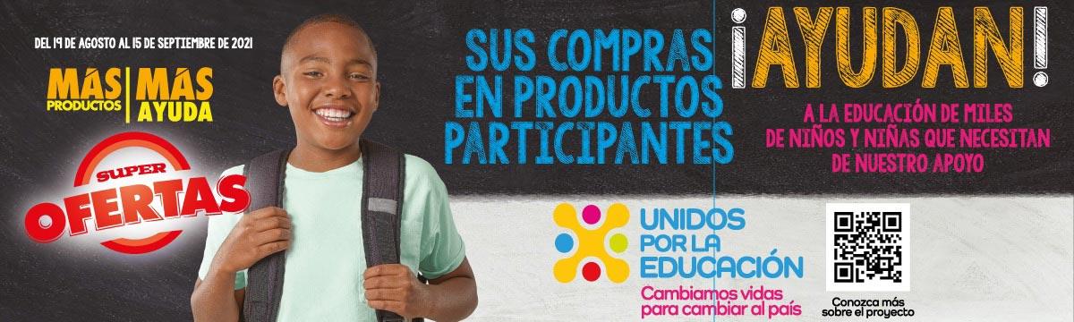 Corporación Favorita y sus supermercados apoyan a la educación de miles de niños y niñas del país
