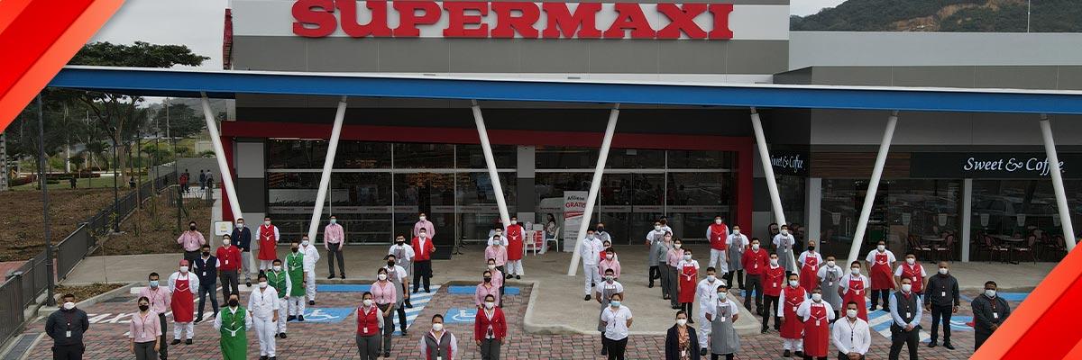 Supermaxi Vía a la Costa: comparte la visión de excelencia, eficiencia, sostenibilidad y mejora continua.